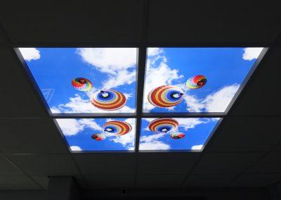 Plafondpaneel LED