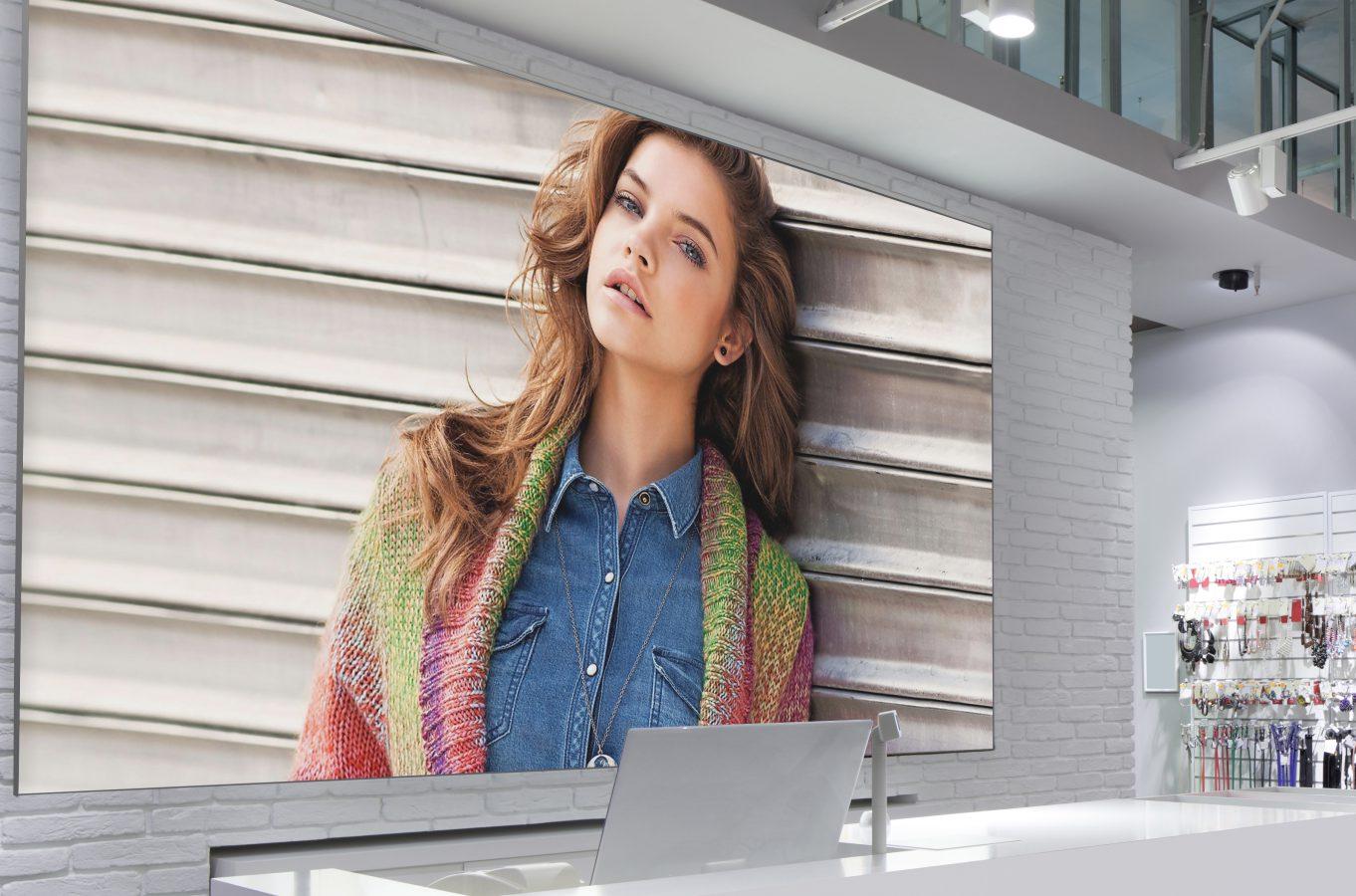 Textieframe voor in uw winkel